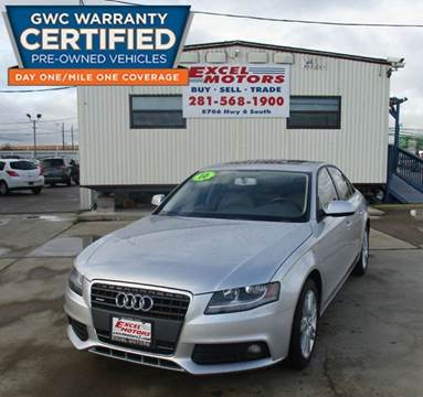 2010 Audi A4 for sale at Excel Motors in Houston TX