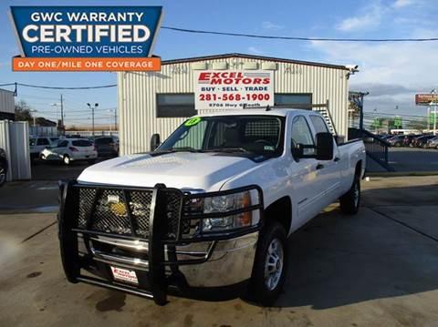 2013 Chevrolet Silverado 2500HD for sale at Excel Motors in Houston TX
