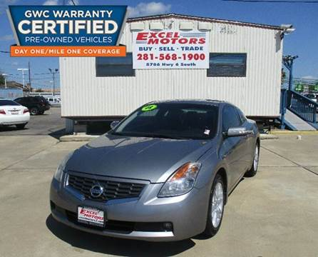 2008 Nissan Altima for sale at Excel Motors in Houston TX