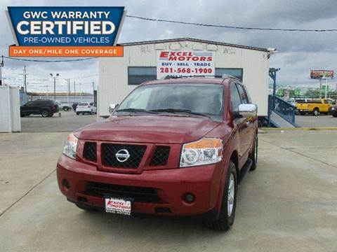 2008 Nissan Armada for sale at Excel Motors in Houston TX