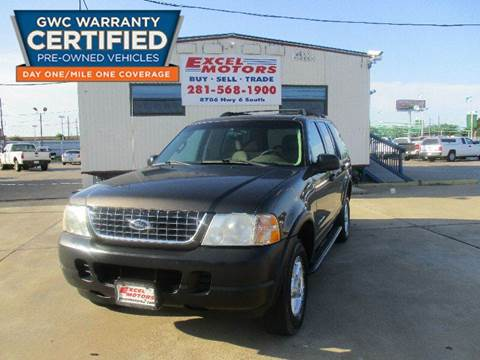 2005 Ford Explorer for sale at Excel Motors in Houston TX