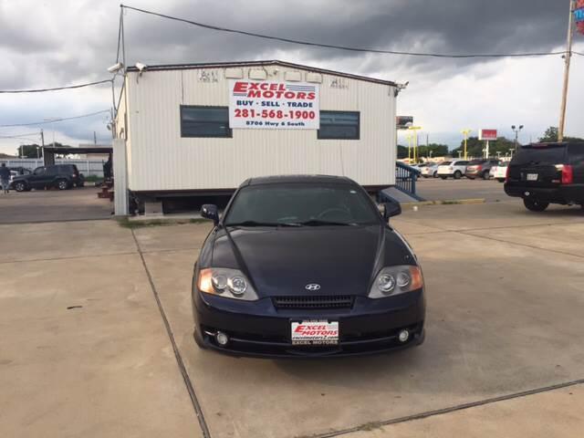 2004 Hyundai Tiburon for sale at Excel Motors in Houston TX