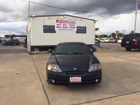 2004 Hyundai Tiburon for sale at Excel Motors in Houston TX