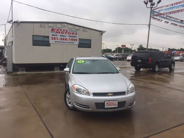 2012 Chevrolet Impala for sale at Excel Motors in Houston TX