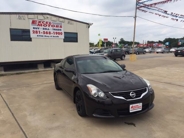 2012 Nissan Altima for sale at Excel Motors in Houston TX