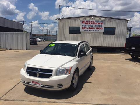 2008 Dodge Caliber for sale at Excel Motors in Houston TX