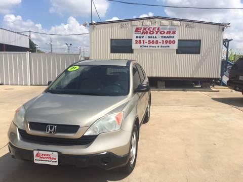 2009 Honda CR-V for sale at Excel Motors in Houston TX