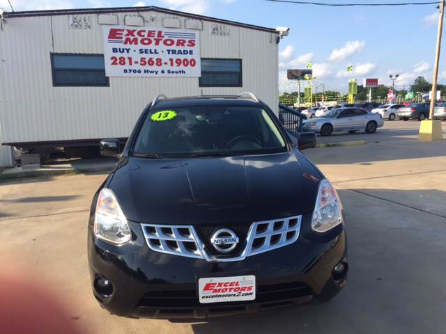 2013 Nissan Rogue for sale at Excel Motors in Houston TX