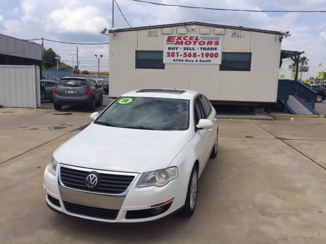 2010 Volkswagen Passat for sale at Excel Motors in Houston TX