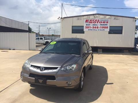 2007 Acura RDX for sale at Excel Motors in Houston TX