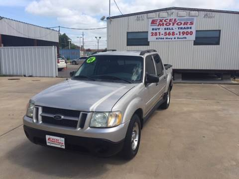 2005 Ford Explorer Sport Trac for sale at Excel Motors in Houston TX