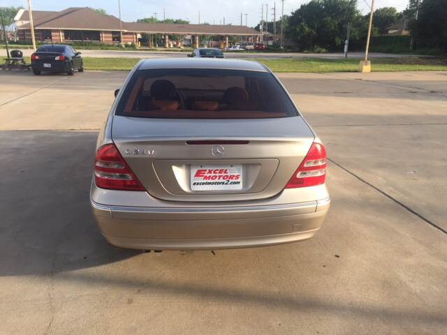 2004 Mercedes-Benz C-Class for sale at Excel Motors in Houston TX