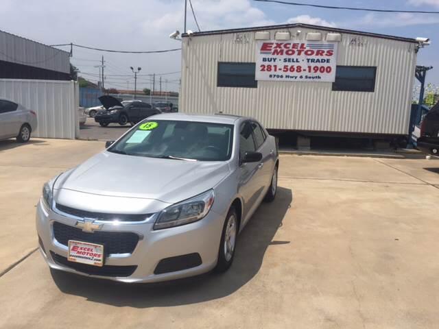 2015 Chevrolet Malibu for sale at Excel Motors in Houston TX