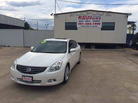2011 Nissan Altima for sale at Excel Motors in Houston TX