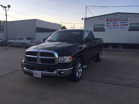 2004 Dodge Ram Pickup 1500 for sale at Excel Motors in Houston TX