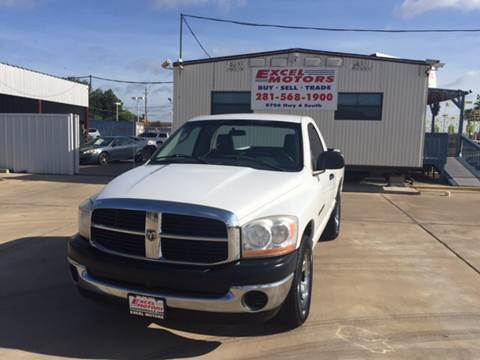 2006 Dodge Ram Pickup 1500 for sale at Excel Motors in Houston TX