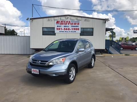 2010 Honda CR-V for sale at Excel Motors in Houston TX