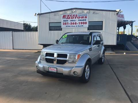 2008 Dodge Nitro for sale at Excel Motors in Houston TX