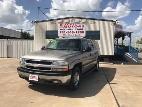 2002 Chevrolet Suburban for sale at Excel Motors in Houston TX