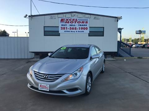 2011 Hyundai Sonata for sale at Excel Motors in Houston TX