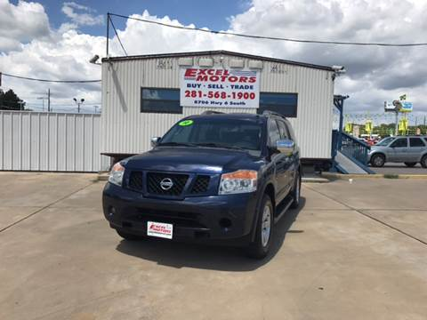 2010 Nissan Armada for sale at Excel Motors in Houston TX