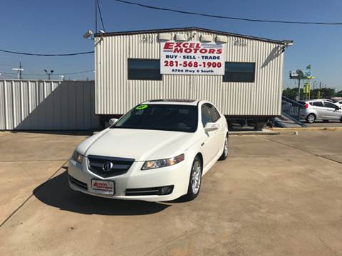 2007 Acura TL for sale at Excel Motors in Houston TX