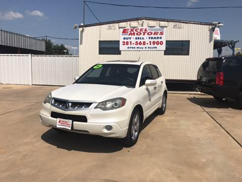 2008 Acura RDX for sale at Excel Motors in Houston TX