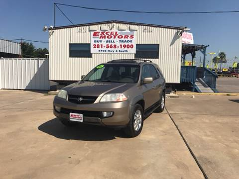 2003 Acura MDX for sale at Excel Motors in Houston TX