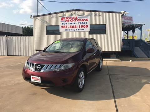 2010 Nissan Murano for sale at Excel Motors in Houston TX