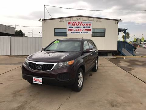 2011 Kia Sorento for sale at Excel Motors in Houston TX
