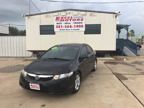 2010 Honda Civic for sale at Excel Motors in Houston TX