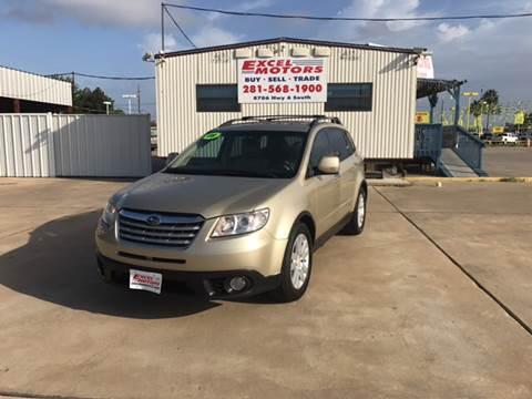2008 Subaru Tribeca for sale at Excel Motors in Houston TX