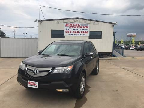 2008 Acura MDX for sale at Excel Motors in Houston TX