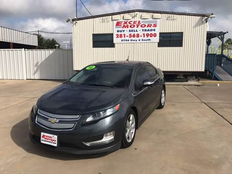 2012 Chevrolet Volt for sale at Excel Motors in Houston TX