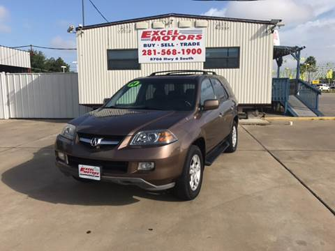 2004 Acura MDX for sale at Excel Motors in Houston TX