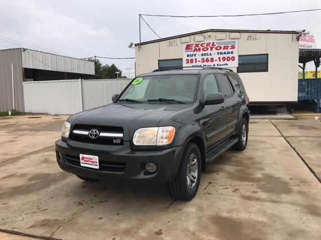 2006 Toyota Sequoia for sale at Excel Motors in Houston TX