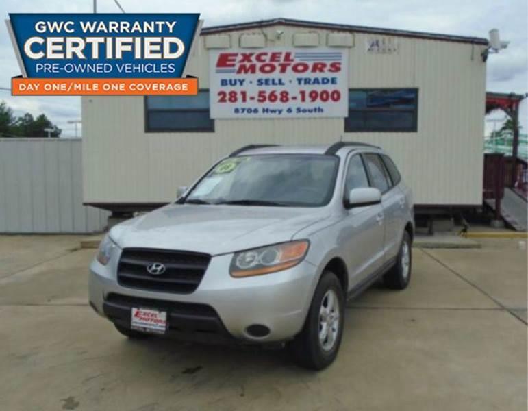 2008 Hyundai Santa Fe for sale at Excel Motors in Houston TX