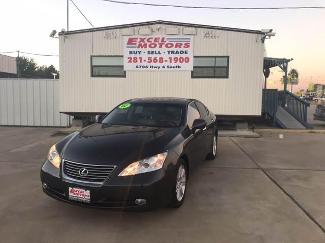 2007 Lexus ES 350 for sale at Excel Motors in Houston TX