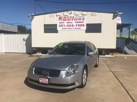 2004 Nissan Maxima for sale at Excel Motors in Houston TX