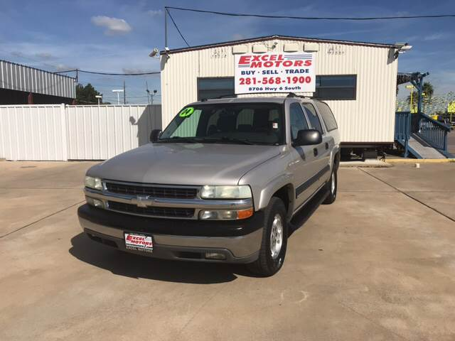 2004 Chevrolet Suburban for sale at Excel Motors in Houston TX