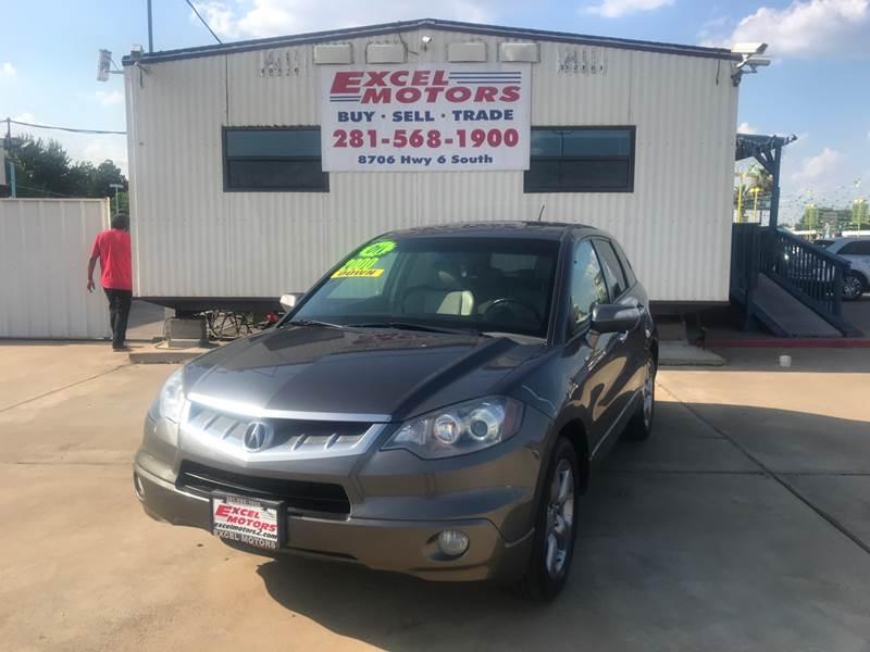 Acura RDX SHAWD In Houston TX Excel Motors - 2007 acura rdx for sale