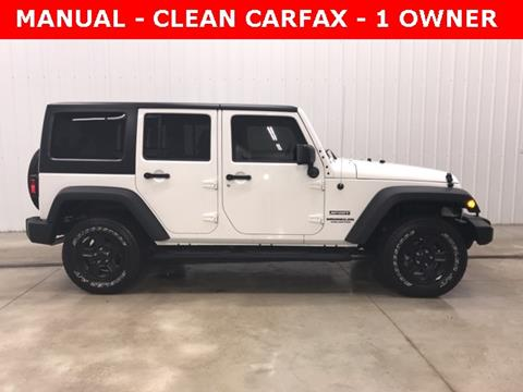 2016 Jeep Wrangler Unlimited for sale in Osceola, IN