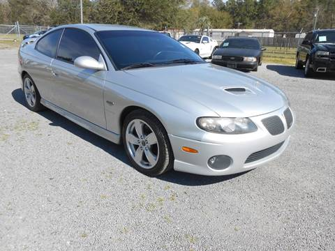 2005 Pontiac GTO for sale in Summerville, SC
