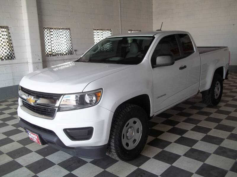 2015 Chevrolet Colorado 4x4 Work Truck 4dr Extended Cab 6 ft. LB - Albion NE