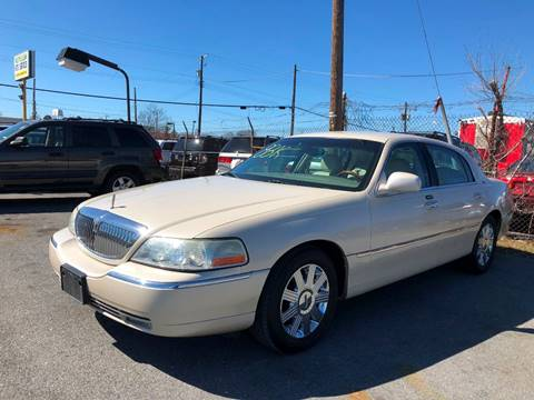 2003 Lincoln Town Car For Sale In Suitland Md