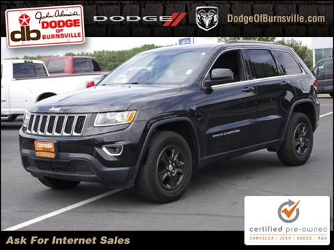 2016 Jeep Grand Cherokee for sale in Burnsville, MN