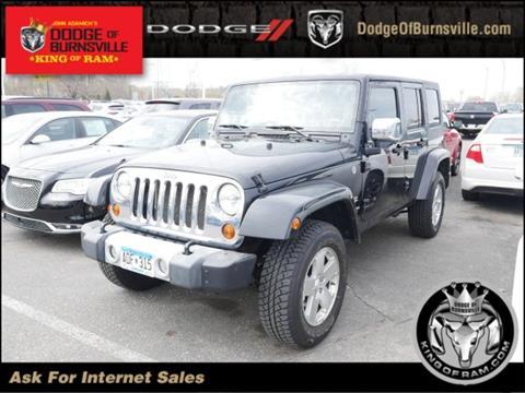 2008 Jeep Wrangler Unlimited for sale in Burnsville, MN