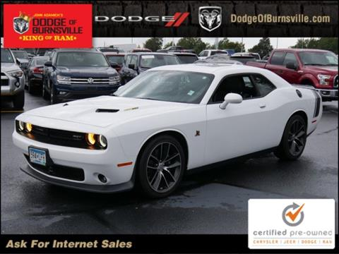2016 Dodge Challenger for sale in Burnsville, MN