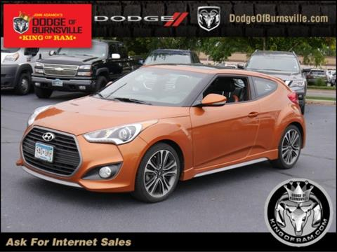 2016 Hyundai Veloster Turbo for sale in Burnsville, MN