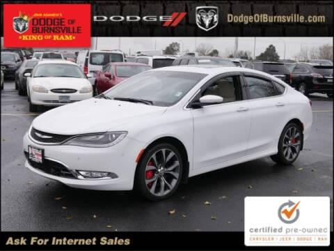 2015 Chrysler 200 for sale in Burnsville, MN
